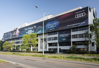 Op elektrisch avontuur in Audi's The Place To -e- in Antwerpen  #1