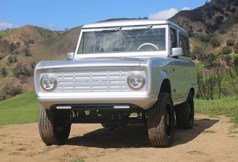 Ford Bronco Zero Lab's : électrique et… manuelle ! #1
