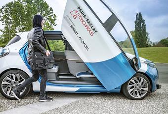 Renault Zoé : taxi autonome pour l'université de Paris-Saclay #1