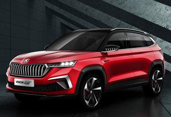 Skoda: Vision GT-concept is de vijfde SUV voor de Chinese markt #1