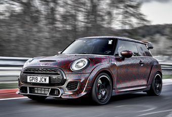 Mini John Cooper Works GP: minder dan 8 minuten op de 'Ring #1