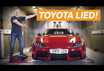 Toyota GR Supra : mesurée avec 40 ch de plus ! #1