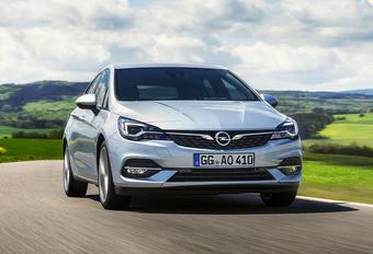 Opel Astra: mini-facelift met nieuwe motoren #1