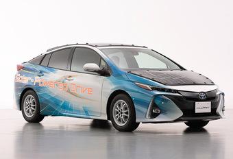 Toyota Prius op zonne-energie #1