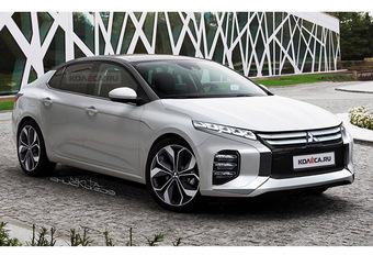 Mitsubishi : la future Lancer imaginée #1
