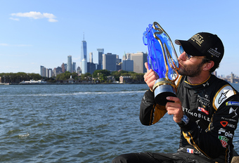 Jean-Eric Vergne en DS Techeetah kampioen Formule E in New York #1
