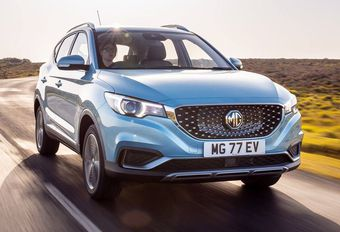 MG ZS EV: overal in Europa #1