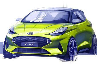Hyundai i10 toont zijn snuit #1