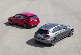 Mercedes A et B 250e : plus de 60 km en électrique #1