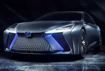 Lexus: de eerste volledig elektrische auto zien we in oktober #1
