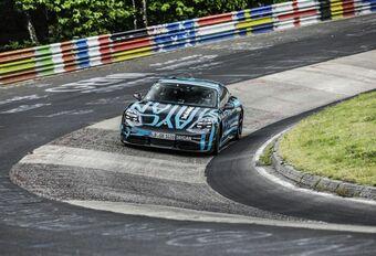 Een record voor de Taycan op de Nürburgring #1