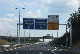 Le Luxembourg a supprimé l'éclairage de ses autoroutes #1