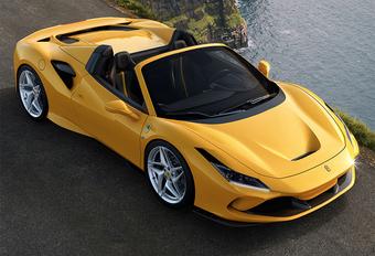Ferrari F8 Spider is topless Tributo #1
