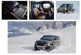 Nieuwe Land Rover Defender lekt op Instagram #1