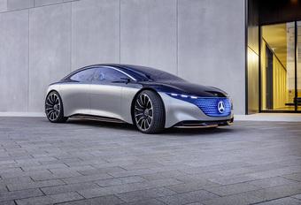 Mercedes Vision EQS: voorbode op de toekomst #1