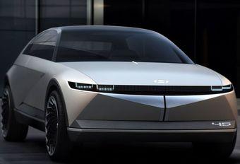 Hyundai 45 EV Concept: met een hoek af #1