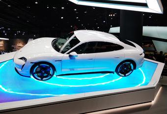 De 5 belangrijkste nieuwigheden op de IAA Frankfurt: Porsche Taycan Turbo S #1