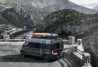 Peugeot Boxer 4x4 Concept snakt naar avontuur #1