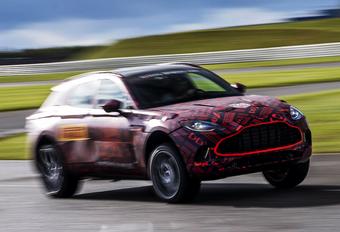 Aston Martin: DBX krijgt V8 #1