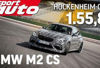 BMW M2 CS doet rondjes op Hockenheim #1