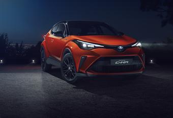 Toyota C-HR : lifting avec uniquement de l'hybride #1