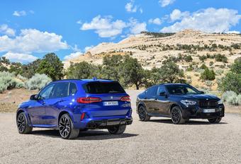 BMW lanceert X5 M en X6 M als Competition #1