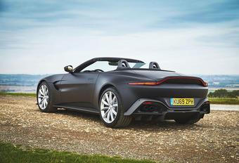 Aston Martin Vantage nu ook als Roadster #1