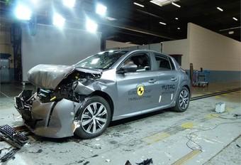 EuroNCAP : la Peugeot 208 rate les 5 étoiles #1