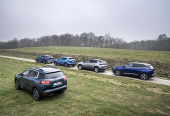 Les SUV responsables désignés de la hausse du CO2 #1