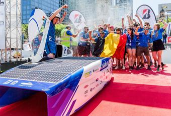 KU Leuven wint voor het eerst World Solar Challenge #1