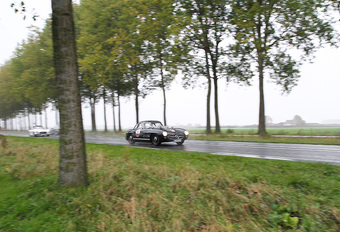 AutoWereld in de Zoute Rally met Mercedes 300 SL Gullwing #1