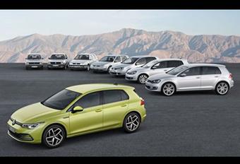 Volkswagen Golf: generatie 8 toont zich volledig #1