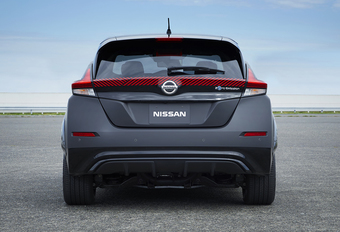 Nissan Leaf Twin Engine heeft 300 pk en vraagt om Nismo-versie #1