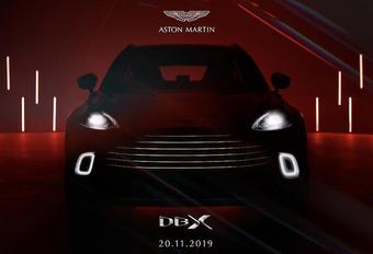 Aston Martin DBX toont interieur en onthult prijs #1