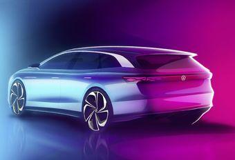 Volkswagen ID Space Vizzion: elektrische break #1