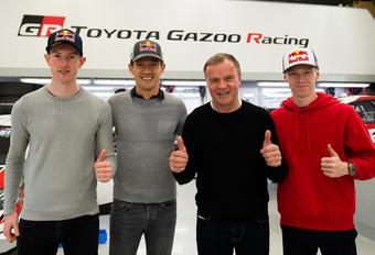 Toyota vernieuwt rallyteam met Ogier, Evans en Rovanperä #1
