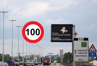 Vlaams klimaatplan verlaagt maximumsnelheid Brusselse Ring naar 100 km/u #1