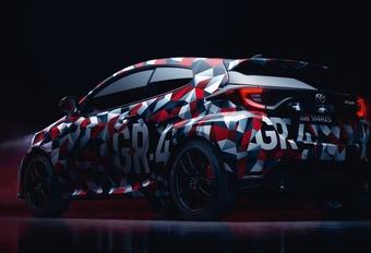 Toyota Yaris GR : première image de la sportive #1