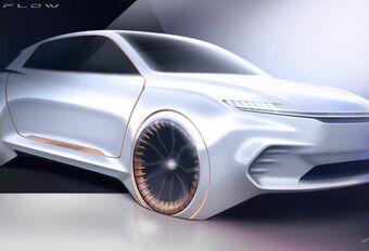 Chrysler Airflow Vision: interactie aan boord #1