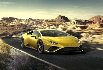 Lamborghini Huracán EVO RWD : arrière toute #1