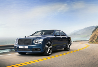 Bentley Mulsanne s'en va avec la 6.75 Edition #1