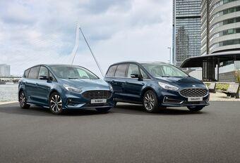 Ford S-Max et Galaxy en variante hybride #1