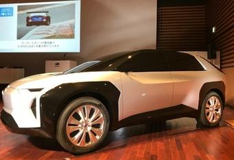 Subaru a présenté son plan électrique #1