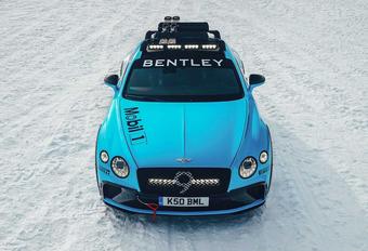 Bentley Continental GT als Ice Race Concept #1