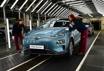 Hyundai Kona Electric: assemblage in Europa #1