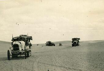 De Sahara oversteken in elektrische Citroëns #1