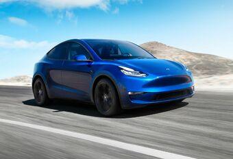 Tesla Model Y: officiële autonomie #1