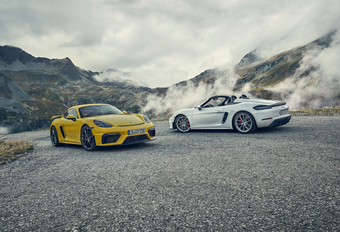 Zo maakt Porsche de 718 GT4 en de Boxster Spyder nog sneller #1