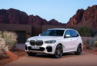 BMW X5 en X6 40d: mild hybride diesel op 48 V #1