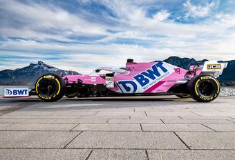 F1 2020: Racing Point blijft roze kleuren trouw #1